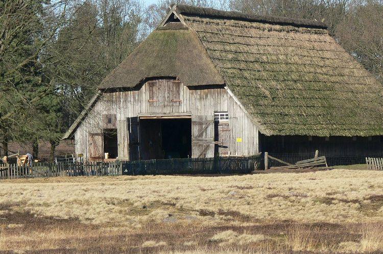 Ein alter Schafstall