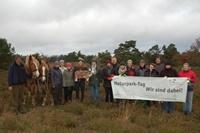 Heideblüte Schneverdingen e.V.: mit Unterstützung von Rückepferden