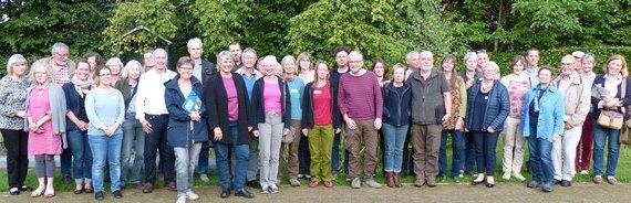 """Teilnehmer des Ideen-Workshops """"Gärten und Blühendes"""""""