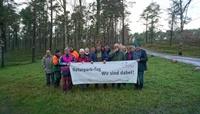 Wanderfreunde Nordheide: entkusseln auf dem Brunsberg