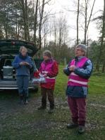 Wanderfreunde Nordheide: auf dem Brunsberg