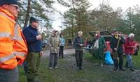 Wanderfreunde Nordheide: die Pause ist verdient!