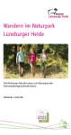 Titelblatt der Broschüre Wandern im Naturpark