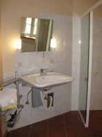 Badezimmer im Davidshof