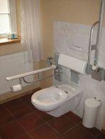 Behindertengerechte Toilette im Davidshof