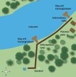 Lageplan am Lopausee