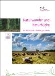 Titelblatt der Broschüre Naturwunder und Naturblicke